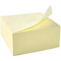 Bloczek samoprzylepny D.RECT 51x51mm 400 kartek żółty (009505)
