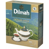 Herbata DILMAH GOLD 100szt x2g saszetki czarna