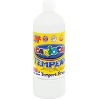 Farba CARIOCA TEMPERA 1000ml biała (KO03/01) 170-1440