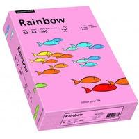Papier xero kolorowy A4 80g RAINBOW różowy R55 88042541