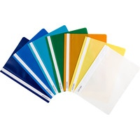Skoroszyt DATURA/NATUNA A4 (10szt) twardy niebieski