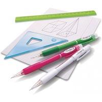 Ołówek automatyczny 0.7mm AX-107/AX127B czerwony PENTEL