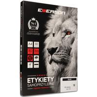 Etykieta A4 biała 85*50mm 014 EMERSON eta4085x050w
