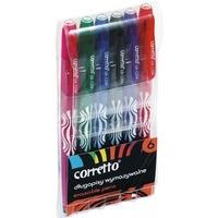 Długopis wymazywalny CORRETTO GR-1204 komplet 6szt. 160-2078