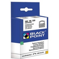 Taśma BLACKPOINT OKI ML320/182/391 nylon 8mm/1.8m