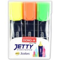 Zakreślacz JETTY 3szt DONG-A TT7704