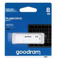 Pamięć USB GOODRAM 8GB UME2 biały USB 2.0 UME2-0080W0R11