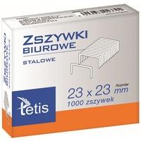 Zszywki biurowe hd 23/23 1000szt. GZ103-A TETIS