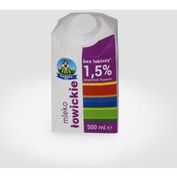 Mleko ŁOWICZ UHT bez laktozy 1.5% 0.5l