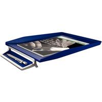 Półka na dokumenty LEITZ STYLE niebieska 52560069z miejscem na długopis