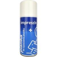 Pianka do czyszczenia plastiku IMPRESSIO (IMY-PIP400) 400ml pomarańczowy