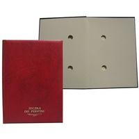 Teczka do podpisu 10k bordo WARTA grzbiet kryty 1824-920-010