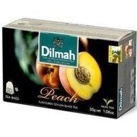 Herbata DILMAH (20 torebek) czarna z aromatem Brzoskwinia