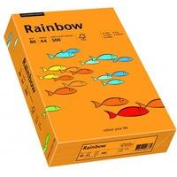 Papier xero kolorowy A4 80g RAINBOW pomarańczowy R24 88042431