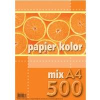 Papier xero A4 (500ark.) mix KRESKA