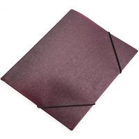 Teczka z gumką A5 SIMPLE FOCUS bordowy 0410-0058-10 PANTA PLAST