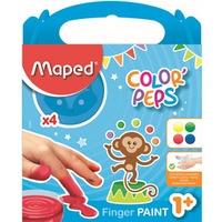 Farby COLORPEPS do malowania palcami 812510 MAPED