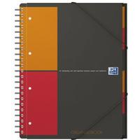 Kołonotatnik A4 80K krata PP OXFORD Organiserbook International 100102777