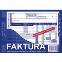 103-3E Faktura VAT netto (pełna) A5 oryginał+kopia MICHALCZYK i PROKOP