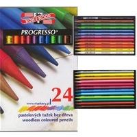 Kredki PROGRESSO 24 kolory 8758 KOH I NOOR