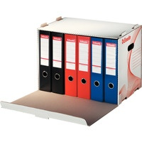 Pudło archiwizacyjne otwierane z przodu białe na segregatory ESSELTE 10964