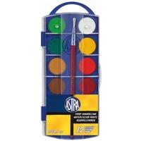 Farby akwarelowe 12 kolorów 23.5 z pędzelkiem 832169050 ASTRA