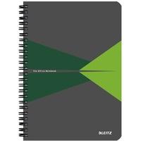 Kołonotatnik LEITZ Office A5 w linie z ok.kar zielony 44590055