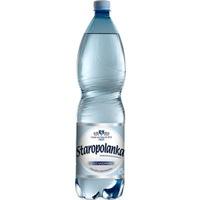 Woda mineralna STAROPOLANKA 800 1, 5l (6) lekko gazowana