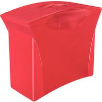 Walizeczka na teczki zawieszane VIVIDA czerwona ESSELTE EUROPOST 623964