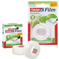 Taśma biurowa TESAfilm INVISIBLE 19x33m+Dyspenser Easy Cut 57414-00005