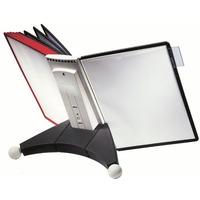 System 10 paneli prezentacyjnych stołowy czarno-szary 563222 SHERPA DURABLE