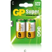 Bateria alkaliczna GP Super C/LR14 (2szt) 1,5V GPPCA14AS003