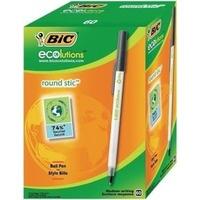 Długopis BIC ROUND STIC CLASSIC czarny 893213/920568