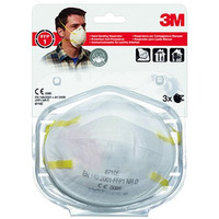 Półmaska filtrująca, ręczne szlifowanie(3)3M bez zaw.8710E FFP1 XA004838810