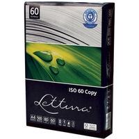 Papier xero A4 (5 ryz) LETTURA 80g ekologiczny xba4lett80gISO60 100% recykling