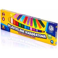 Plastelina Astra kwadratowa 18 kolorów 83814904 ASTRA