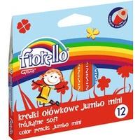 Kredki ołówkowe FIORELLO SUPER SOFT 12 kol. trójk. MINI JUMBO 170-2297