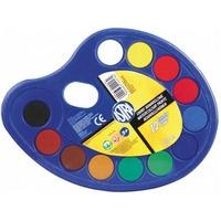 Farby GWASZE 12 kolorów PALETKA 83216903 ASTRA