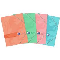 Teczka z gumką A4 OXFORD touch mix kolorów 400084052