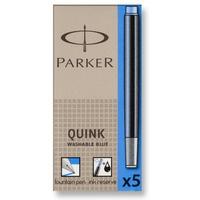 Naboje PARKER (5sztuk) niebieskie zmywalne 1950383
