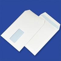Koperty C5 SK białe 90g okno prawy/lewy środek 45x90mm (500szt.) NC 31421120