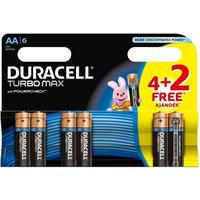 Bateria DURACELL Turbo AA/LR6 K4+2 4530155