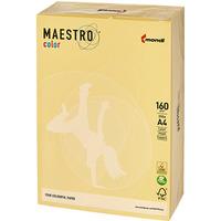 Papier xero A4 160g MAESTRO COLOR YE23 żółty pastel (250szt)