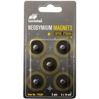 Magnesy neodymowe 10mm (5) 110191 LEVIATAN