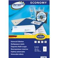 Etykiety ZF ECONOMY A4 105x148mm białe ELA024 AVERY ZWECKFORM