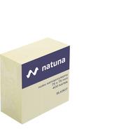 Kostka samoprzylepna DATURA/NATUNA 75x75 400 kartek żółta (NSKZ/D)