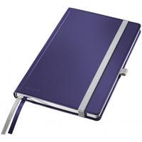 Notatnik twardy LEITZ STYLE A5 kratka Tytanowy błękit 44860069