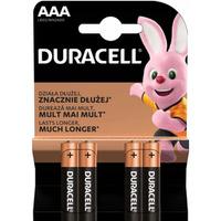 Bateria alkaliczna DURACELL BASIC AAA/LR03 K4 (4szt) 4520104