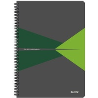 Kołonotatnik OFFICE A4 kratka zielony 46470055 LEITZ