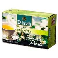 Herbata DILMAH (20 torebek) zielona z kwiatem jaśminu
